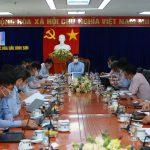Phó Tổng Giám đốc PVN Lê Xuân Huyên làm việc tại Lọc hóa dầu Bình Sơn